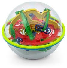 3d maze ball