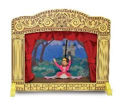 hand puppet theater