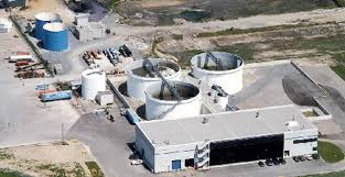 industrial wastewater treatment plant