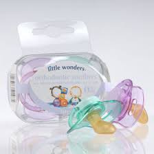 orthodontic soothers