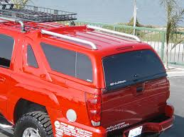 chevy avalanche camper shell