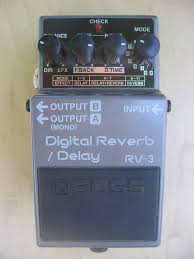 boss delay reverb