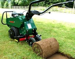 landscaping machine