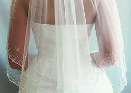 beaded wedding veils