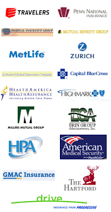 logos of insurance companies