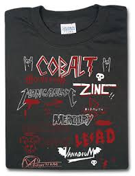 t shirt heavy metal