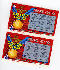 lottery scratch card