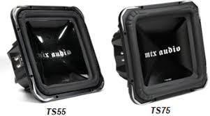 mtx square subwoofers