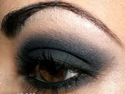dark smoky eye makeup