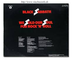 black sabbath we sold