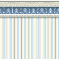 blue striped wallpaper