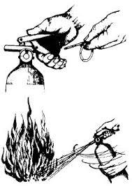 extinguidor de fuego