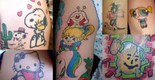 cartoon tattoos pictures