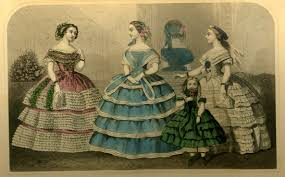 fashion in 1860