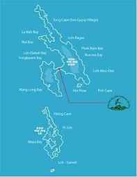 phi phi hotel map