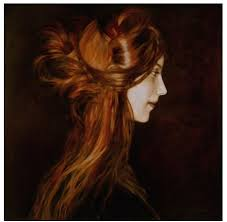 oil painting hair