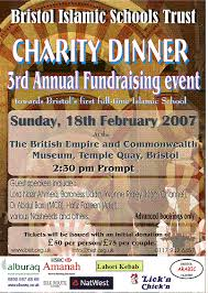 charity event poster
