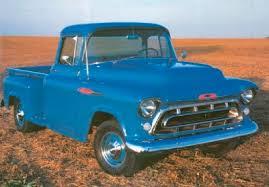 1957 chevrolet trucks