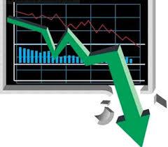 stock market crash photos