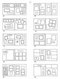 scrapbook page sketches