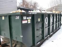 dumpster size