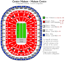 bell centre seating plan