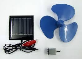 solar powered motor