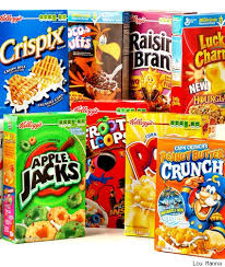 kinds of cereal