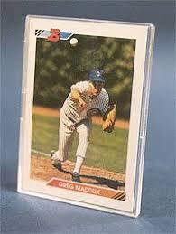 baseball cards case