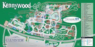 kennywood park map