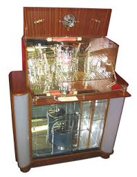 art deco cocktail cabinets