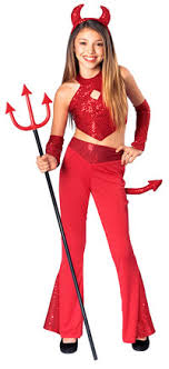 girls devil costumes