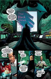 black glove batman