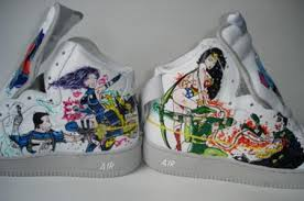 custom painted air force ones