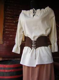medieval women clothes
