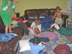 boys sleepovers