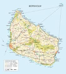 bornholm kort