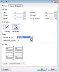 create booklets