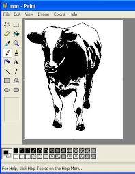 monochrome bitmap