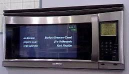 tv microwave