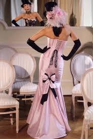 corset short dress