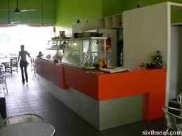 cafe counter design