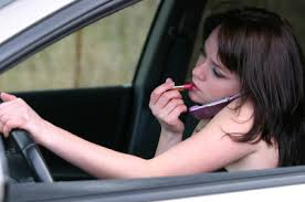 driving and talking on cell phones