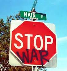 anti war signs