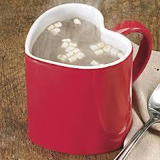 heart shaped mugs