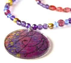 acrylic pendant