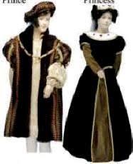 16th century costumes