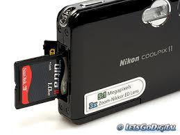 digital camera storage cards