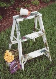 antique step ladders