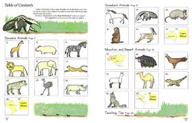 animals in a grassland